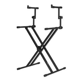 Frameworks GFW-KEY-5100X X Style Keyboard Stand with Upper Tier
