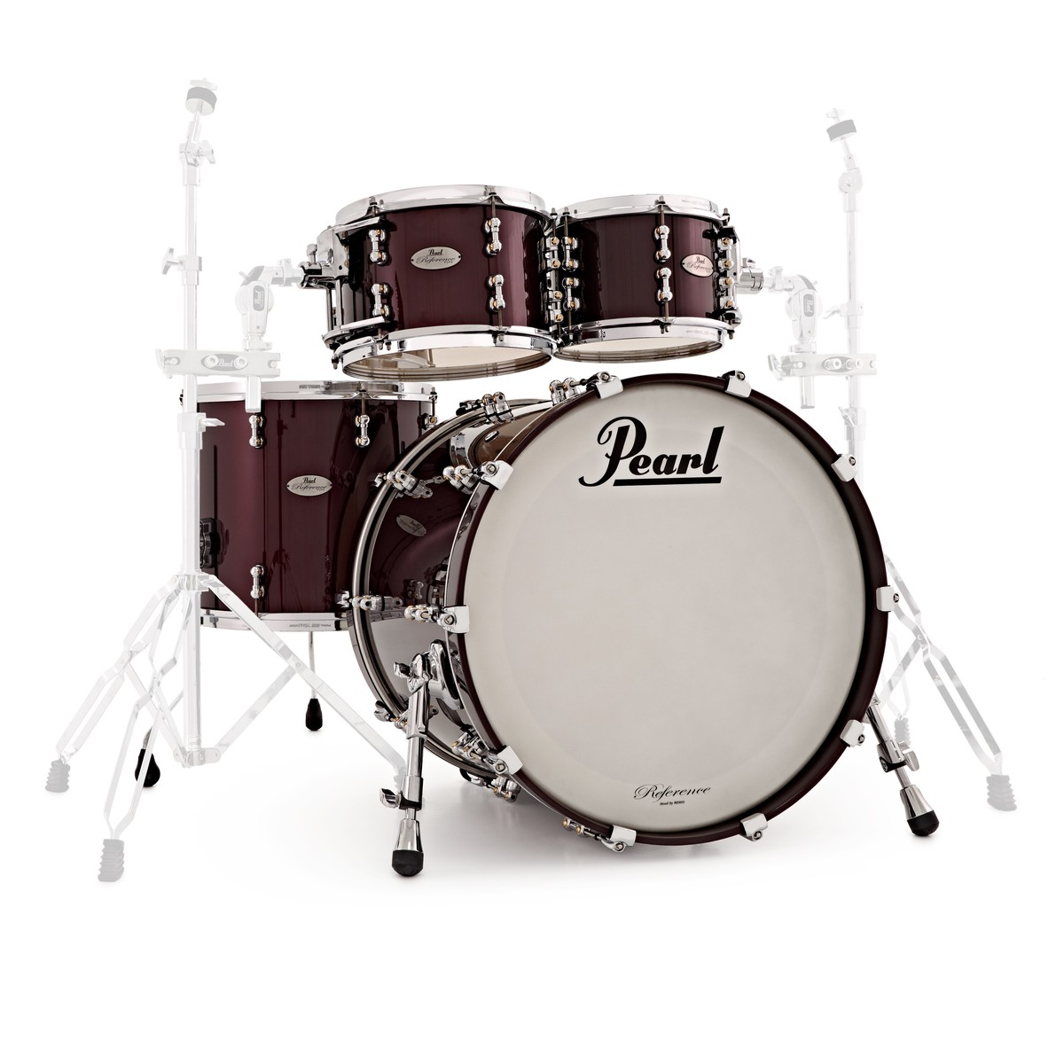 pearl reference pure 22 39 39 american fusion shell pack black cherry at gear4music. Black Bedroom Furniture Sets. Home Design Ideas