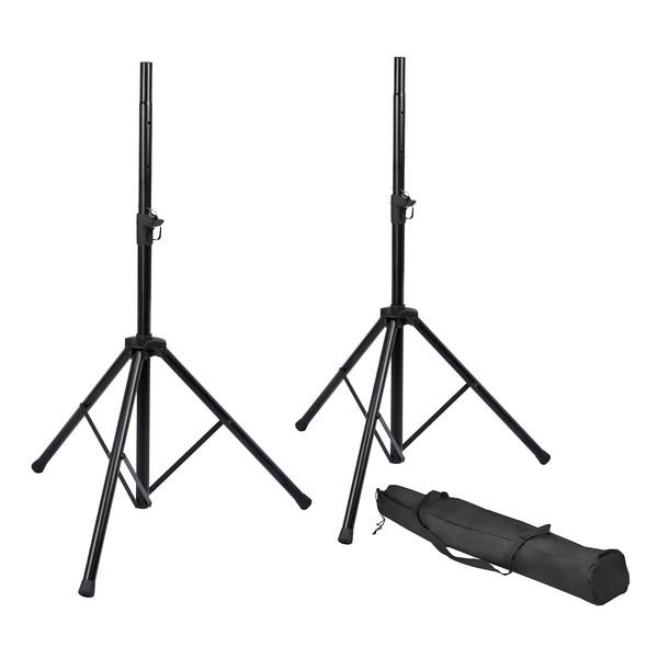 Frameworks RI-SPKRSTDSET Rok-It Basic Tripod Speaker Stand Set 1