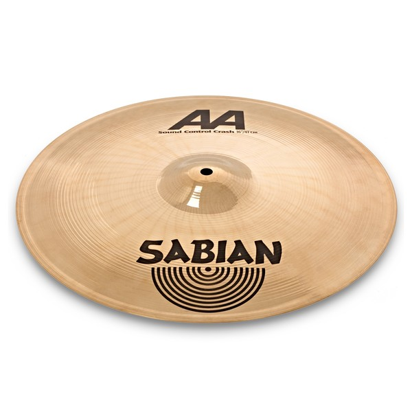 Sabian AA 16'' Sound Control Crash Cymbal, Brilliant