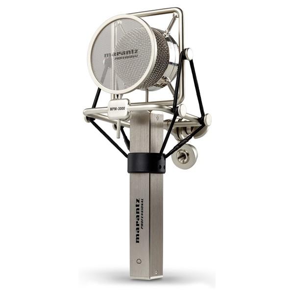 Marantz MPM-3000 Condenser Microphone - Angled