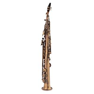 Odyssey OSS3700 Symphonique Bb Straight Soprano Saxophone, Antique
