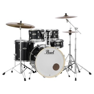 Pearl Export EXX 22'' Fusion Drum Kit, Jet Black