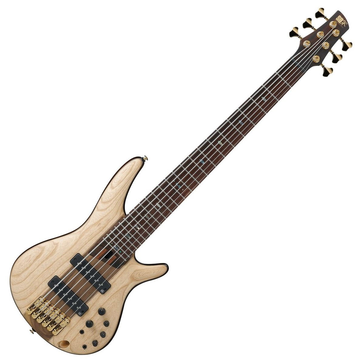 ibanez sr1306 premium 6 string bass 2018 natural flat at gear4music. Black Bedroom Furniture Sets. Home Design Ideas
