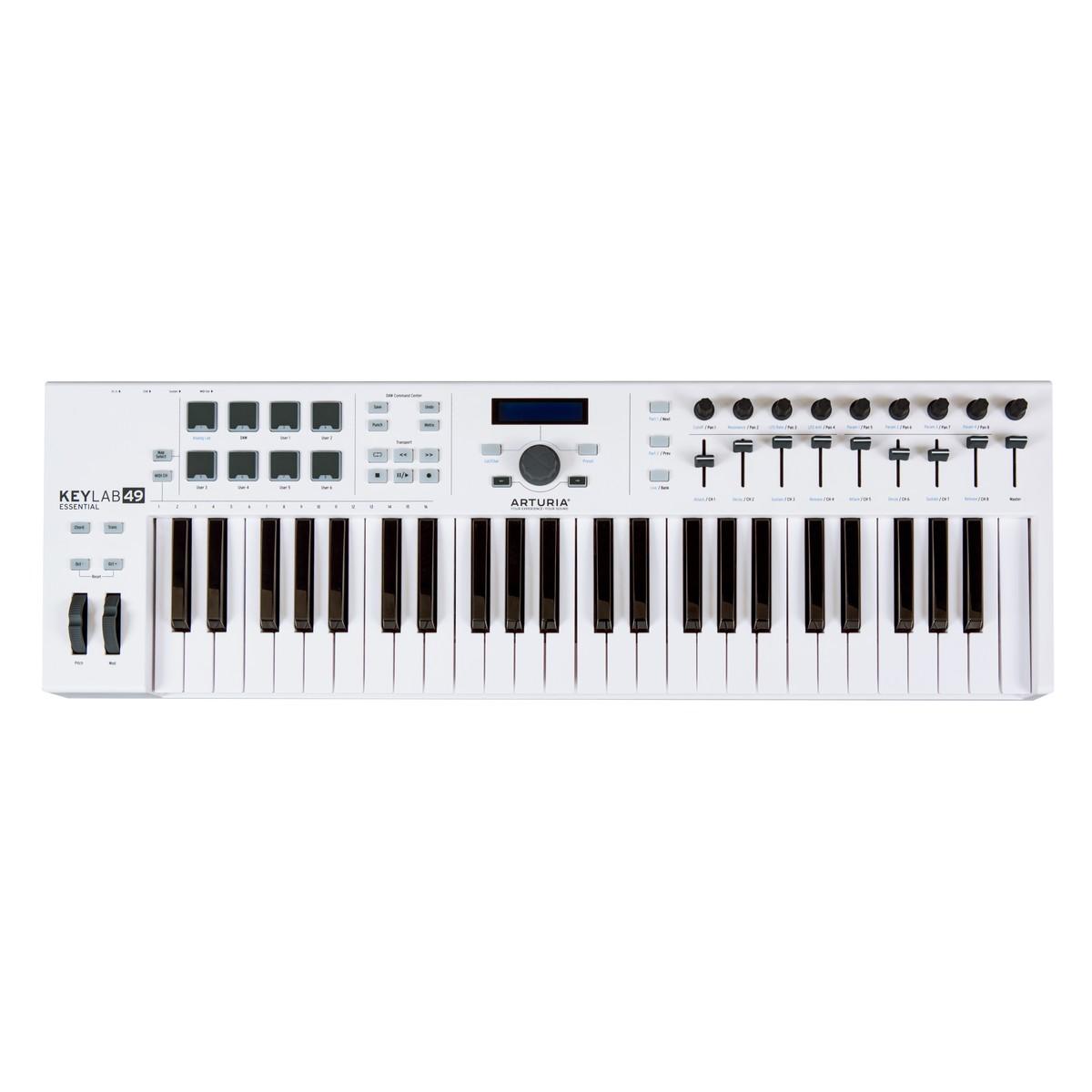 Arturia KeyLab Essential 49 MIDI Keyboard - B-Stock