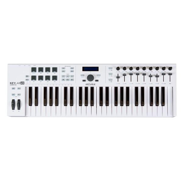 Arturia KeyLab Essential 49 MIDI Keyboard Top