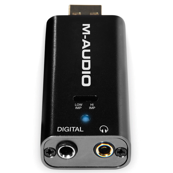 M-Audio Micro DAC Analog to Digital Converter - Back