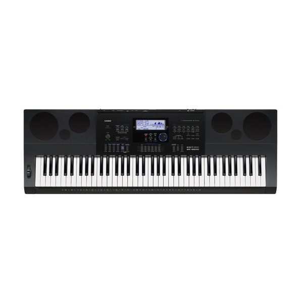 Casio WK-6600 Portable Keyboard, Black
