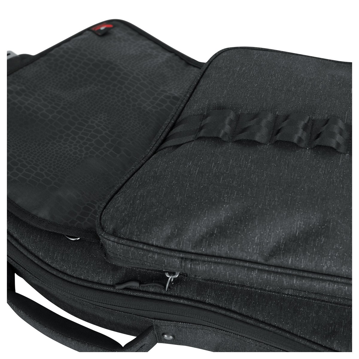 Gator Gt Electric Blk Transit Series Guitar Bag Black At Go Back Gallery For Parts Front Pocket Loading Zoom