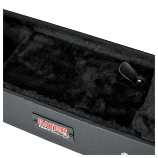 Gator GWE-335 Economy Semi-Hollow Electric Guitar Case, Neck Storage