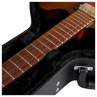 Gator GWE-335 Economy Semi-Hollow Electric Guitar Case, Neck Support