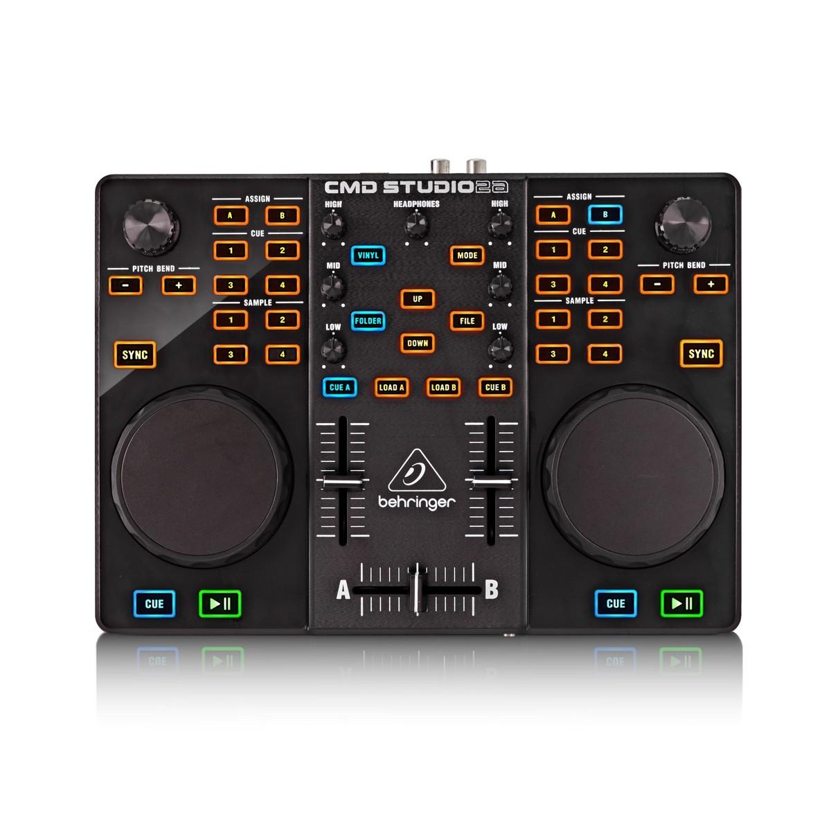 Behringer Dj Controller Cmd Studio 2a Dj Midi Controller Gear4music