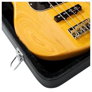 Gator GWE-BASS Economy Bass Guitar Case, Interior Close-Up