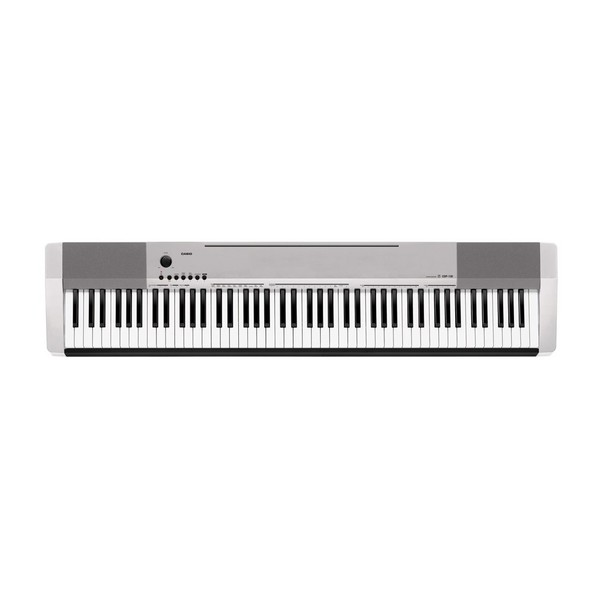 Casio CDP 130 Compact Digital Piano, Silver