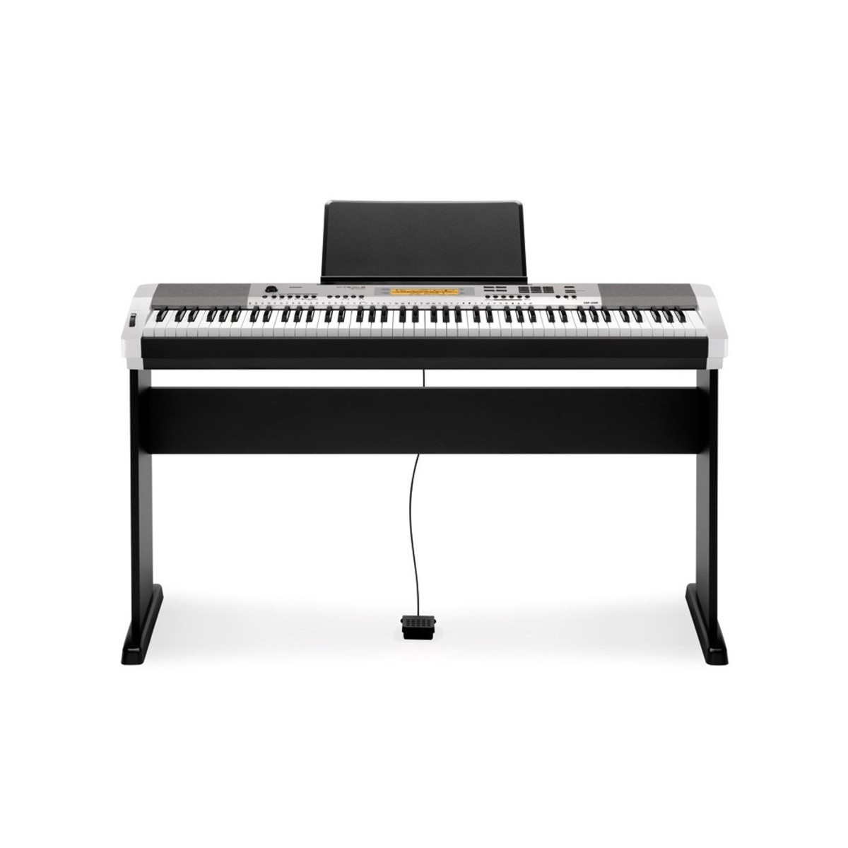 casio cdp 230r digital piano silver at gear4music. Black Bedroom Furniture Sets. Home Design Ideas