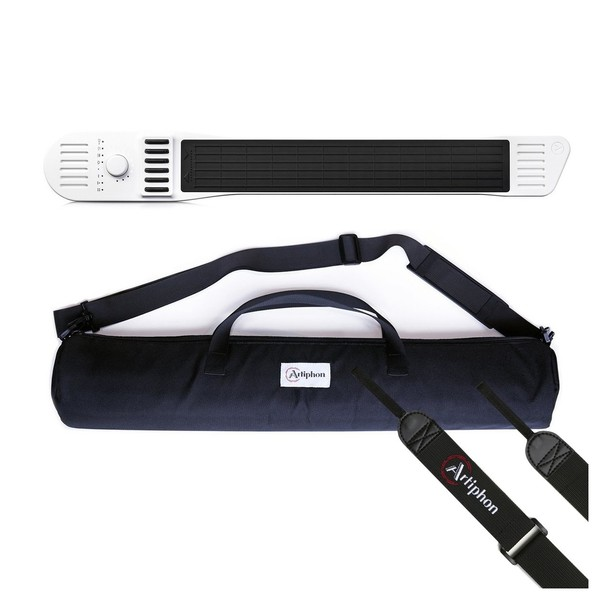 Artiphon Instrument 1 with Bag and Strap, White - Bundle