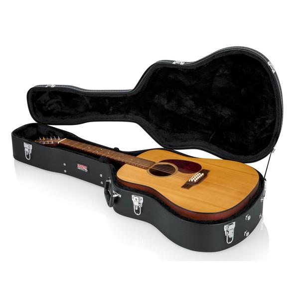 Gator GWE-DREAD 12 Economy Dreadnought Acoustic Guitar Case, Interior