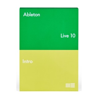 Ableton Live 10 Intro - Box Front