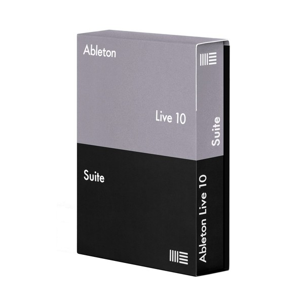 Ableton Live 10 Suite - Box Angle
