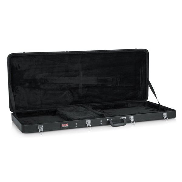 Gator GWE-EXTREME Economy Electric Guitar Case, Open