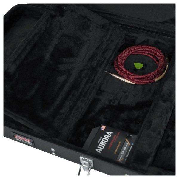 Gator GWE-EXTREME Economy Electric Guitar Case, Storage Compartment