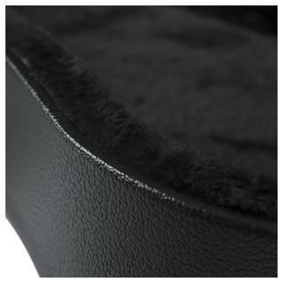Gator GWE-LPS-BLK Economy Single Cutaway Electric Guitar Case, Interior Close-Up