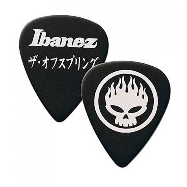 Ibanez OS-BK The Offspring, Black Signature Pick Pack of 50