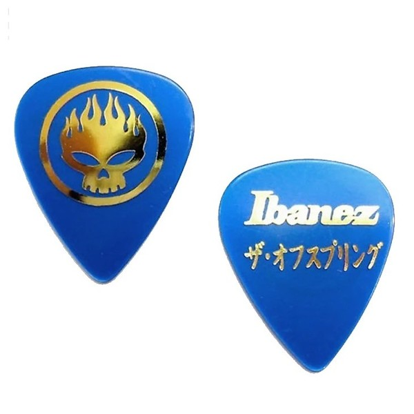 Ibanez OS-BK The Offspring, Blue Signature Pick Pack of 50