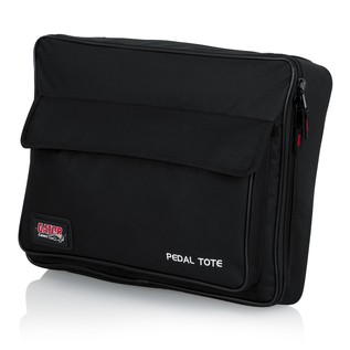 """Gator GPT-BLACK Pedal Board with Tote Bag, 16.5"""" x 12"""" 3"""