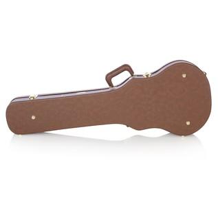 Gator GWE-LPS-BROWN Economy Single Cutaway Electric Guitar Case, Rear