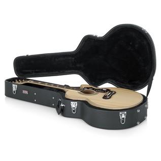 Gator GW-JUMBO Deluxe Jumbo Acoustic Guitar Case, Interior