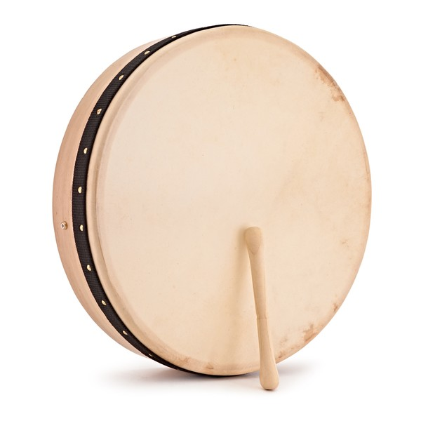 "18"" Bodhran with Bag and Beater"