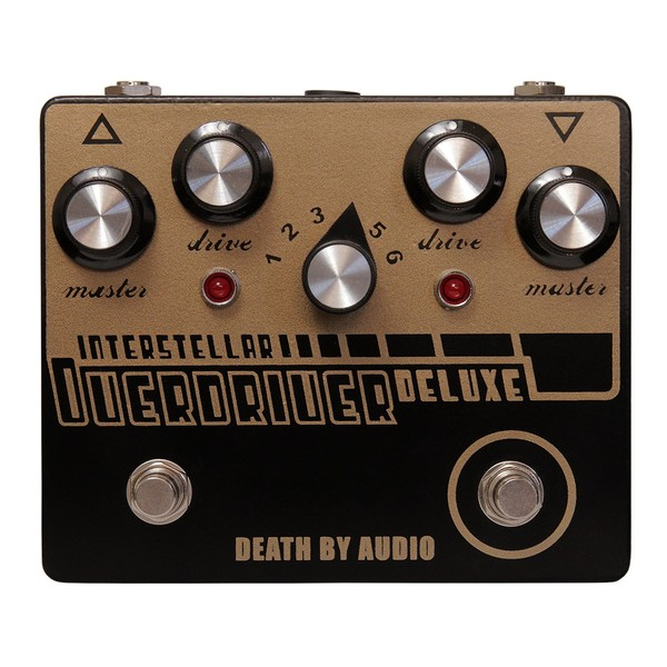 Death By Audio Interstellar Overdriver Deluxe Overdrive & Fuzz