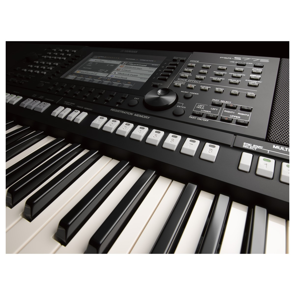 yamaha psr s775 portable arranger workstation at gear4music. Black Bedroom Furniture Sets. Home Design Ideas