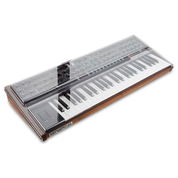 Decksaver Dave Smith Instruments Prophet 6 Cover - Angled