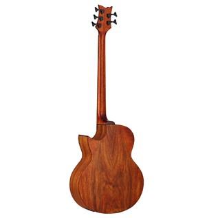 Ortega D3C-5 Electro Acoustic Bass, Gloss Paldao Back View