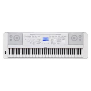 Yamaha DGX 660 Digital Piano with Stand, White