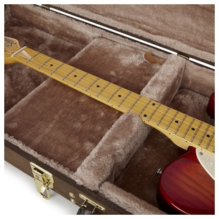 Gator GW-ELECT-VIN Deluxe Electric Guitar Case, Neck Support