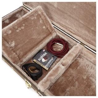Gator GW-ELECT-VIN Deluxe Electric Guitar Case, Storage Compartment