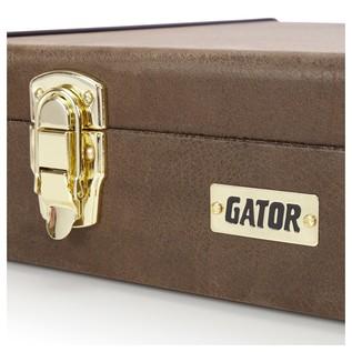 Gator GW-ELECT-VIN Deluxe Electric Guitar Case, Latch