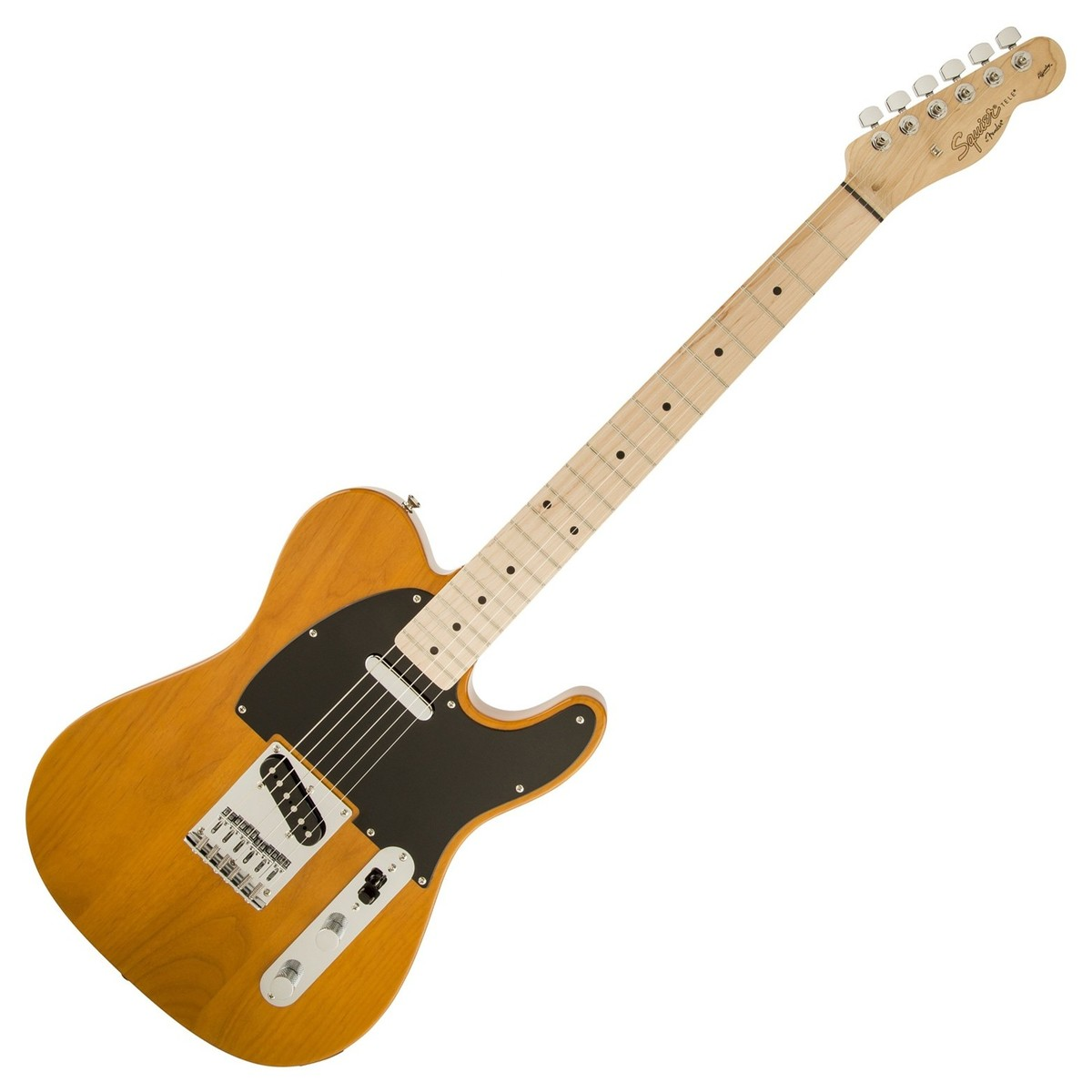 squier by fender affinity telecaster mn butterscotch blonde boxopen at gear4music. Black Bedroom Furniture Sets. Home Design Ideas