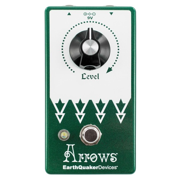 EarthQuaker Devices Arrows V2 Preamp Booster