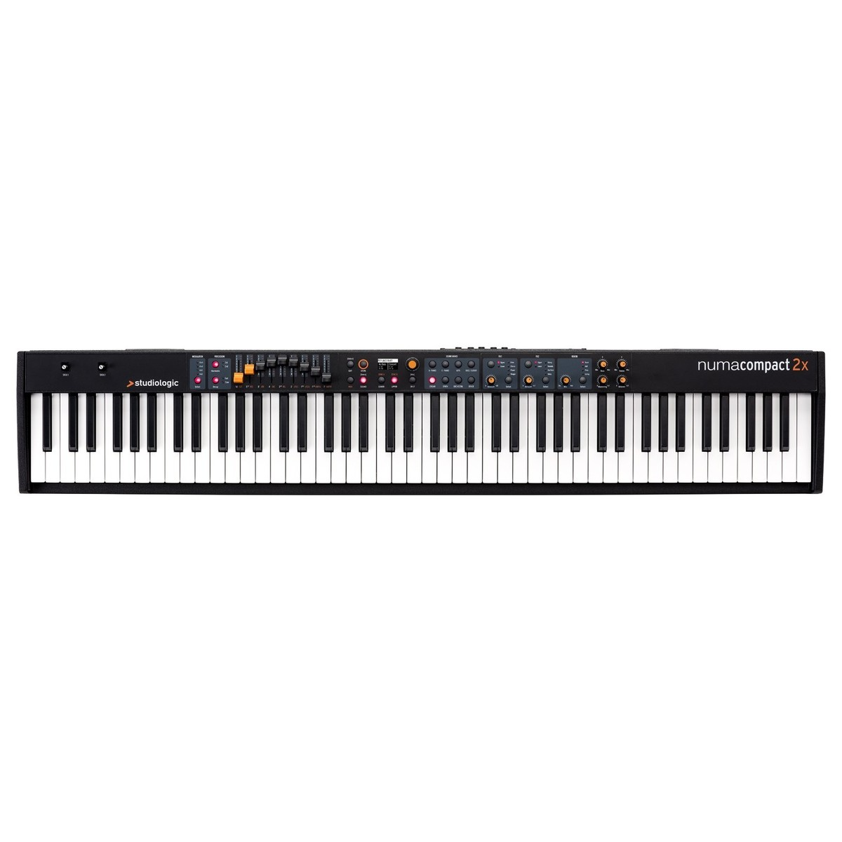 Click to view product details and reviews for Studiologic Numa Compact 2x Keyboard.