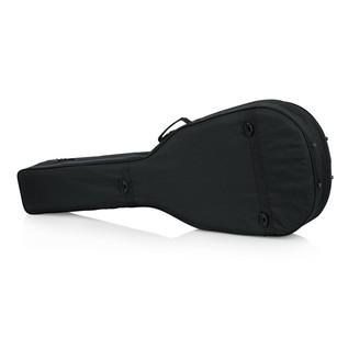 Gator GL-AC-BASS Rigid EPS Acoustic Bass Guitar Case, Rear
