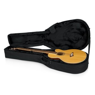 Gator GL-AC-BASS Rigid EPS Acoustic Bass Guitar Case, Interior