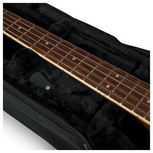 Gator GL-AC-BASS Rigid EPS Acoustic Bass Guitar Case, Neck Support