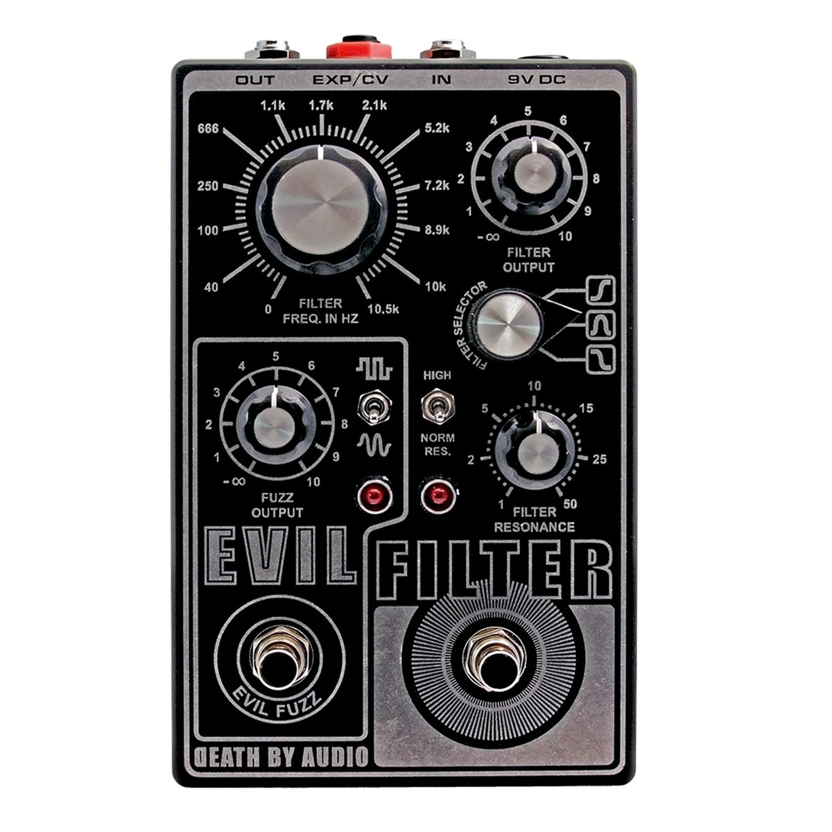 death by audio evil filter fuzz at gear4music. Black Bedroom Furniture Sets. Home Design Ideas