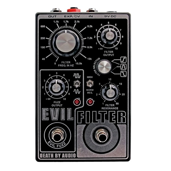 Death By Audio Evil Filter & Fuzz