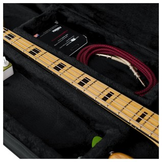 Gator GL-BASS Rigid EPS Electric Bass Guitar Case, Neck Support and Storage