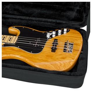 Gator GL-BASS Rigid EPS Electric Bass Guitar Case, Close-Up